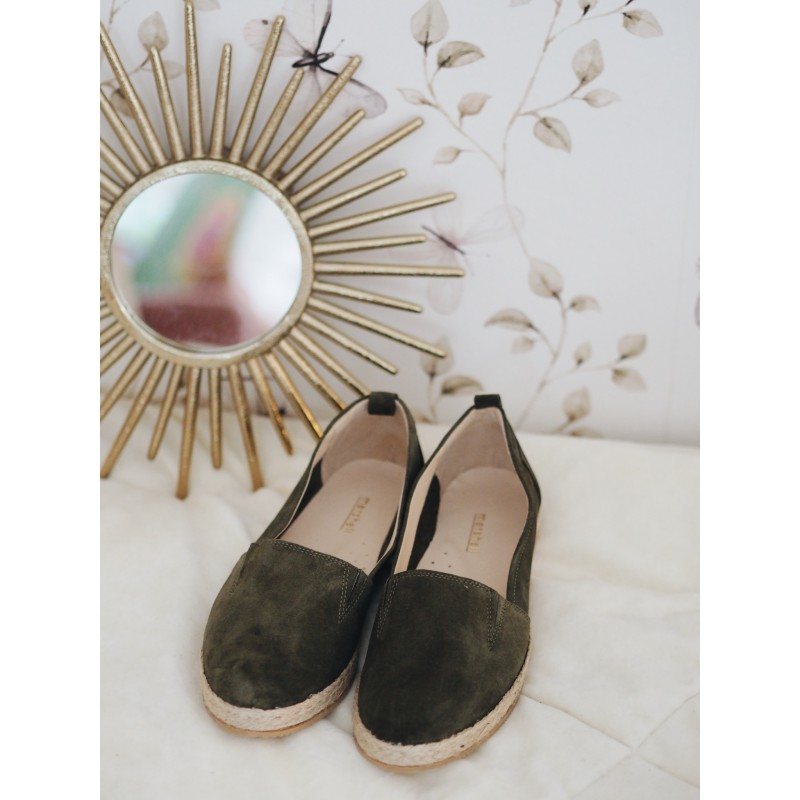Espadrille Dark Green
